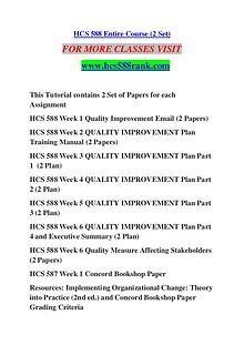 HCS 588 RANK Keep Learning /hcs588rank.com