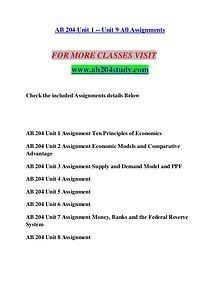 AB 204 STUDY Extraordinary Success/ab204study.com