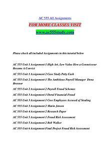AC 555 STUDY Extraordinary Success/ac555study.com