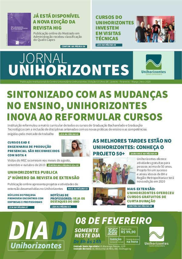 Jornal Unihorizontes Jornal Unihorizontes - Edição 53