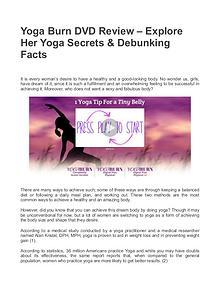 Yoga Burn Download / Yoga Burn Challenge By Zoe Bray Cotton
