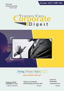 Corporate Digest Magazine- October/2017