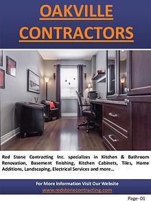Oakville contractors