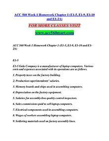 ACC 560 MART Extraordinary Success/acc560mart.com