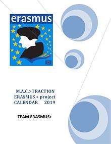 CALENDAR ERASMUS PROJECT
