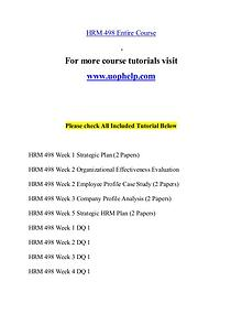 HRM 498 help Minds Online/uophelp.com