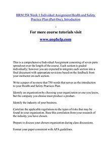 HRM 554 help Minds Online/uophelp.com