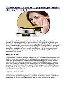 What are the benefits of Nuluxe Cream?