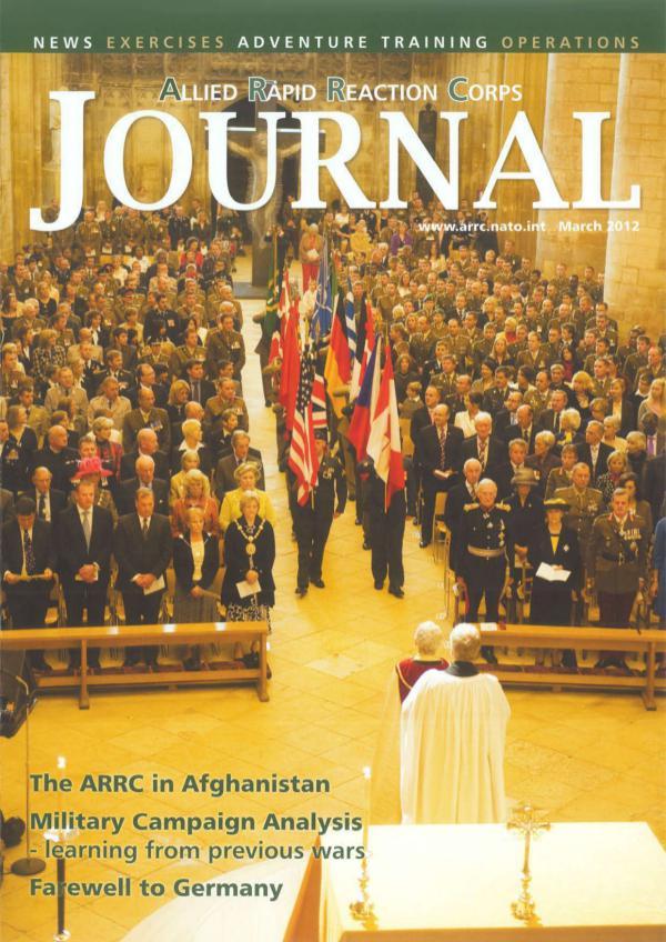 ARRC Journal March 2012
