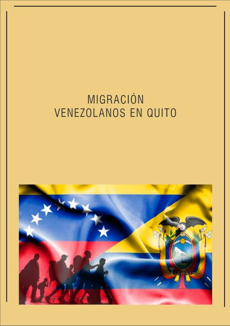 Venezolanos en Quito Venezolanos en Quito