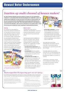 Winkeladvies UniMail Mei 2013