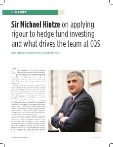 Sir Michael Hintze interview