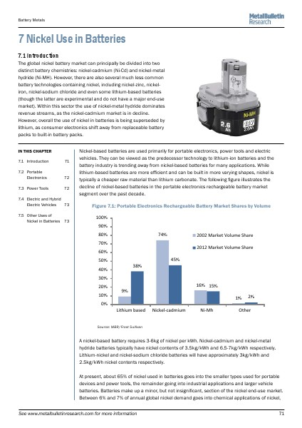 Metal Bulletin Research Ten Year Strategic Outlook for the Primary Battery