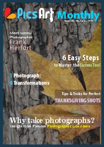 PicsArt Monthly November Issue 2013