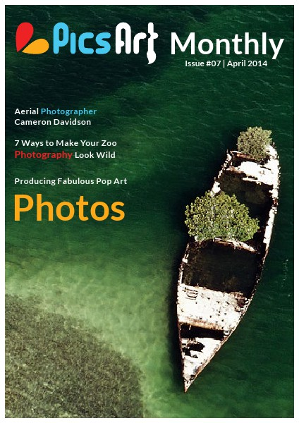 PicsArt Monthly April Issue 2014