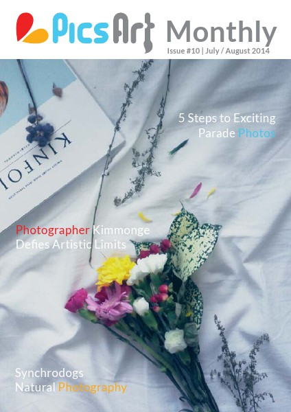 PicsArt Monthly July/ August 2014