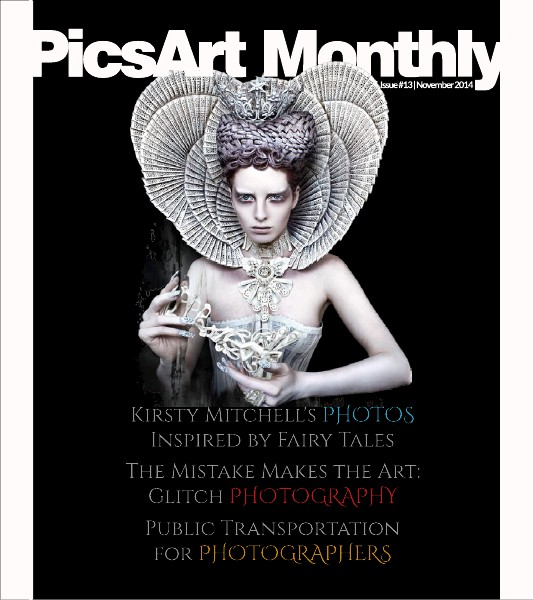PicsArt Monthly Magazine November Issue 2014