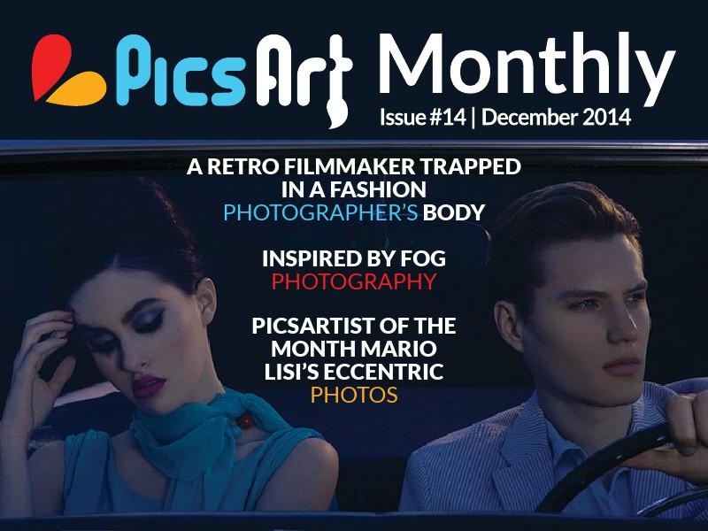 PicsArt Monthly PicsArt Monthly Magazine December Issue 2014