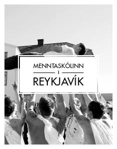Menntaskólinn í Reykjavík bæklingur
