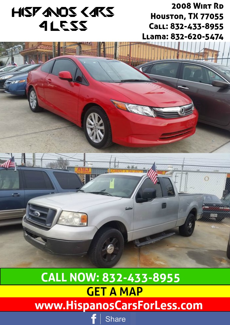 Houston Autos Hispanos Cars 4 Less