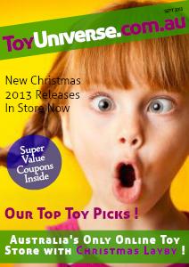 toyuniverse.com.au Magazine Sept. 2013