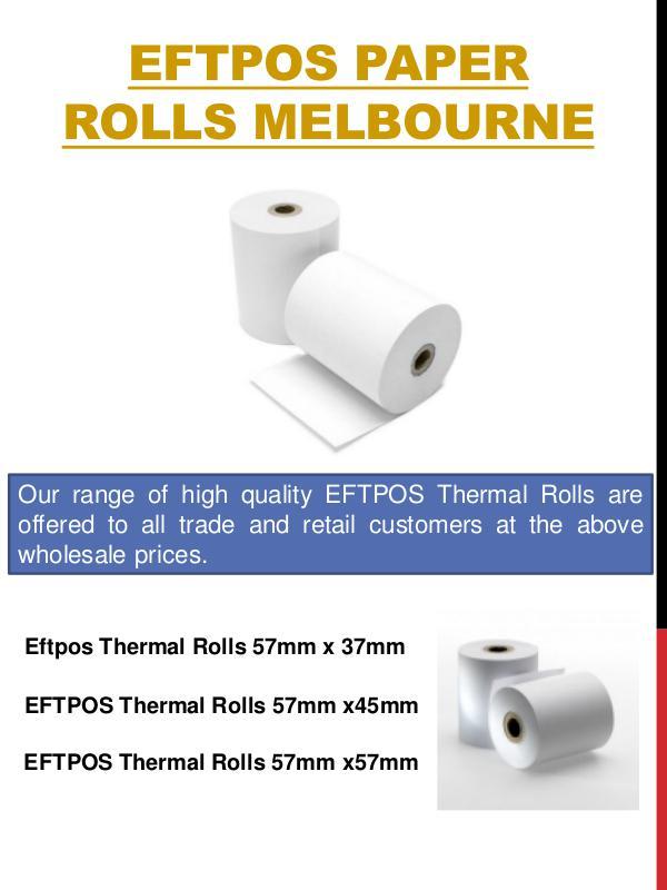 Receipt Paper Rolls Melbourne Receipt Paper Rolls Melbourne