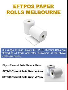 Receipt Paper Rolls Melbourne