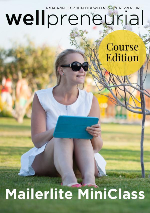 Wellpreneurial Magazine Mailerlite MiniClass