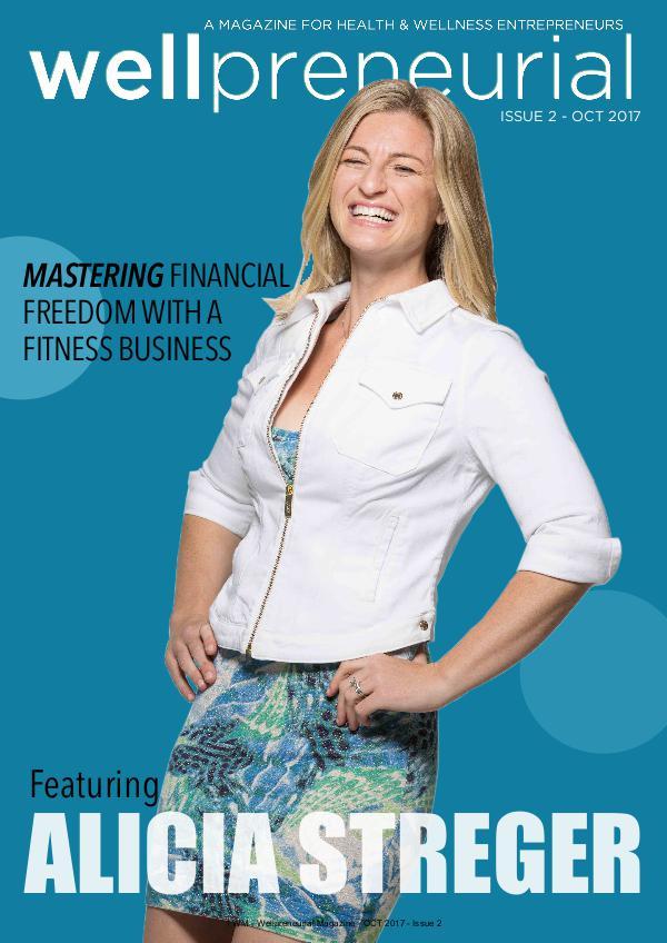 Wellpreneurial Magazine October 2017 - Issue 2