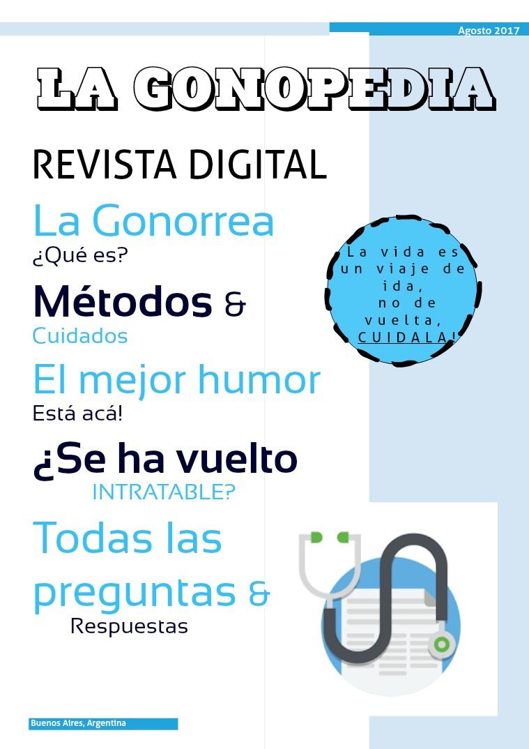 La Gonopedia La Gonorrea, Agosto 2017