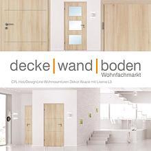 dwb Wohnraumtüren CPL Holz Design Line mit Lisenen