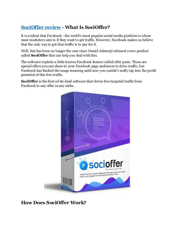 Marketing SociOffer review-(Free) bonus and discount