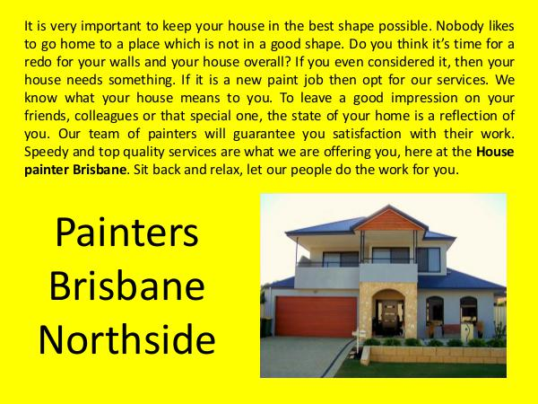 House Painters Brisbane Painters Brisbane Northside