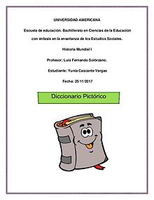 Diccionario Pictórico de Historia Mundial I