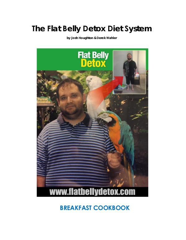 Josh Houghton: Flat Belly Detox Formula PDF / eBook Free Download Flat Belly Detox Review