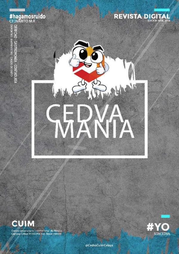 CEDVA ESPECIALES Edición Abril