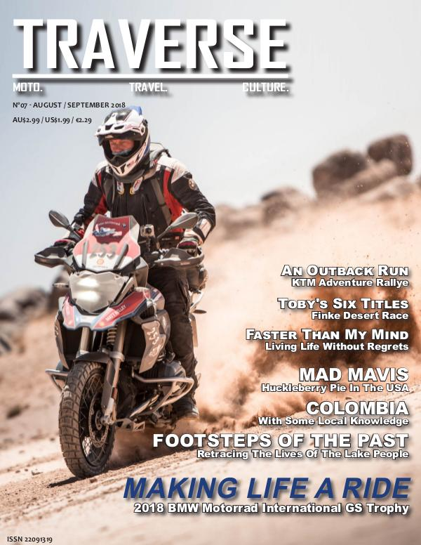 TRAVERSE Issue 07 - August 2018