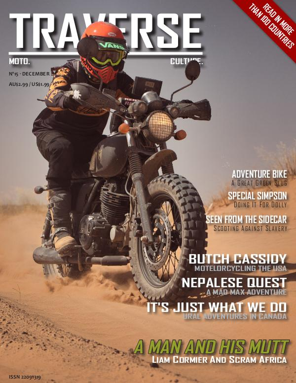 TRAVERSE Issue 15 - December 2019