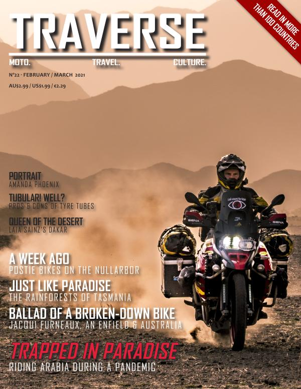 TRAVERSE Issue 22 - February 2021