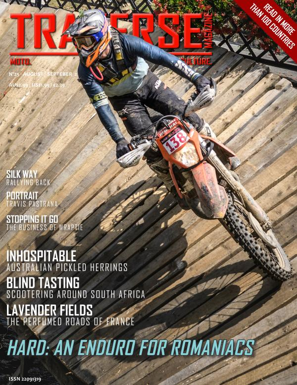 TRAVERSE Issue 25 - August 2021