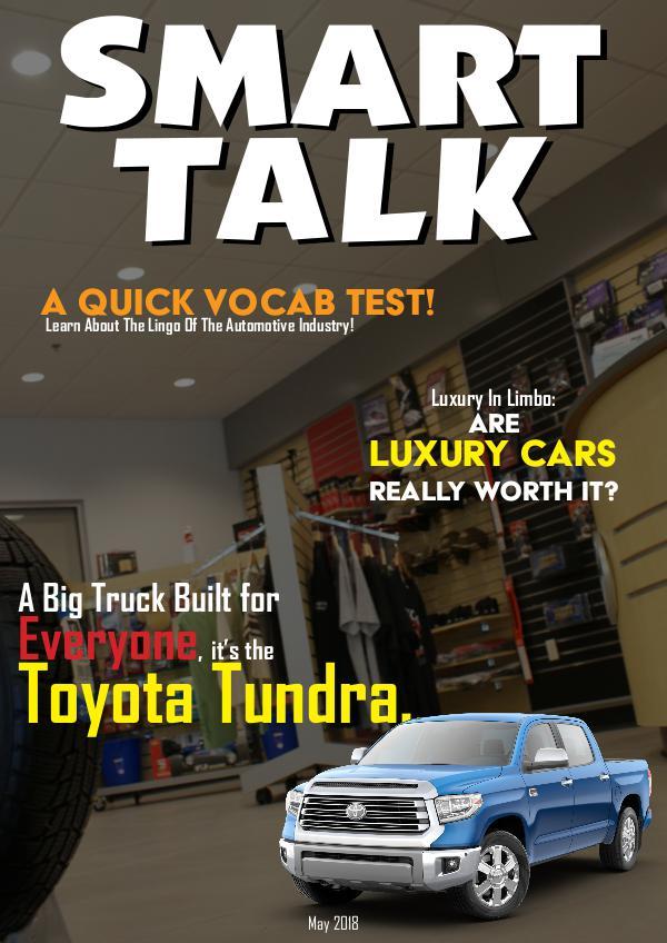 Smart Talk Newsletter - Toyota in Madison, WI Smart Talk May