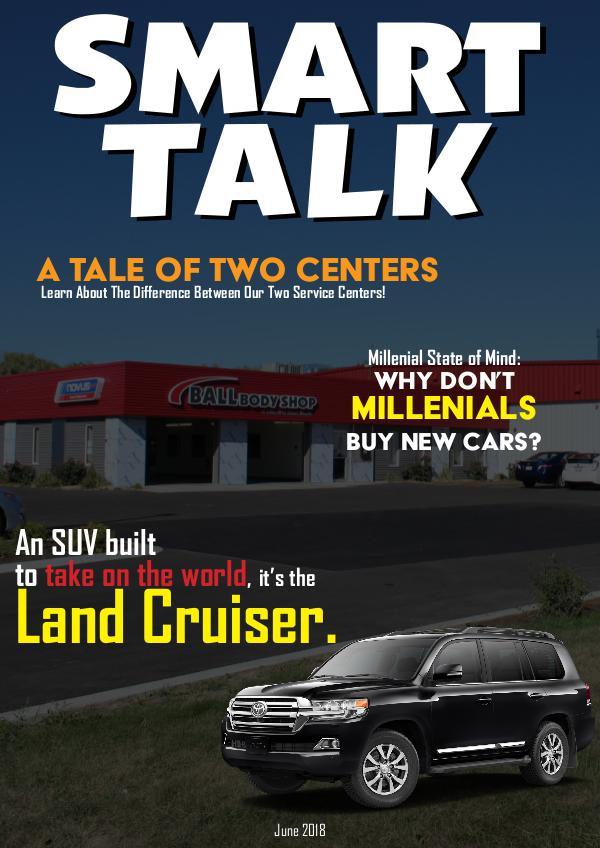 Smart Talk Newsletter - Toyota in Madison, WI Smart Talk June