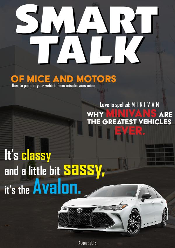Smart Talk Newsletter - Toyota in Madison, WI Smart Talk August