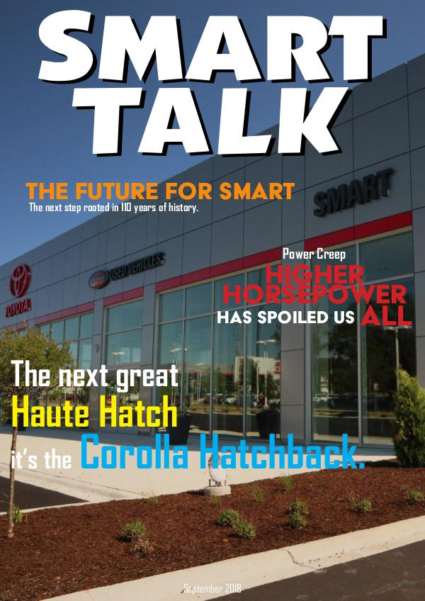 Smart Talk Newsletter - Toyota in Madison, WI Smart Talk September