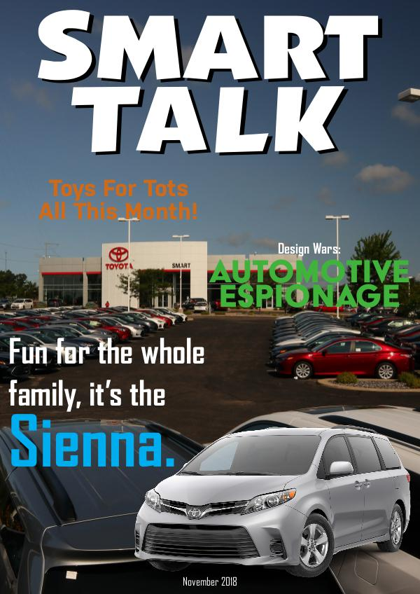 Smart Talk Newsletter - Toyota in Madison, WI Smart Talk November