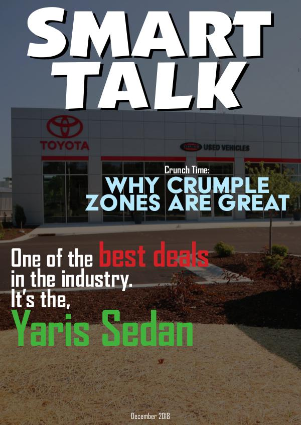 Smart Talk Newsletter - Toyota in Madison, WI Smart Talk December