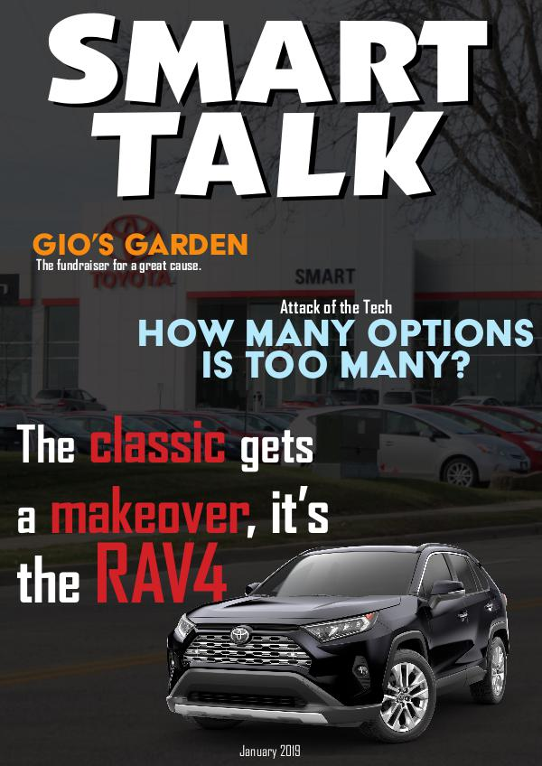 Smart Talk Newsletter - Toyota in Madison, WI Smart Talk January