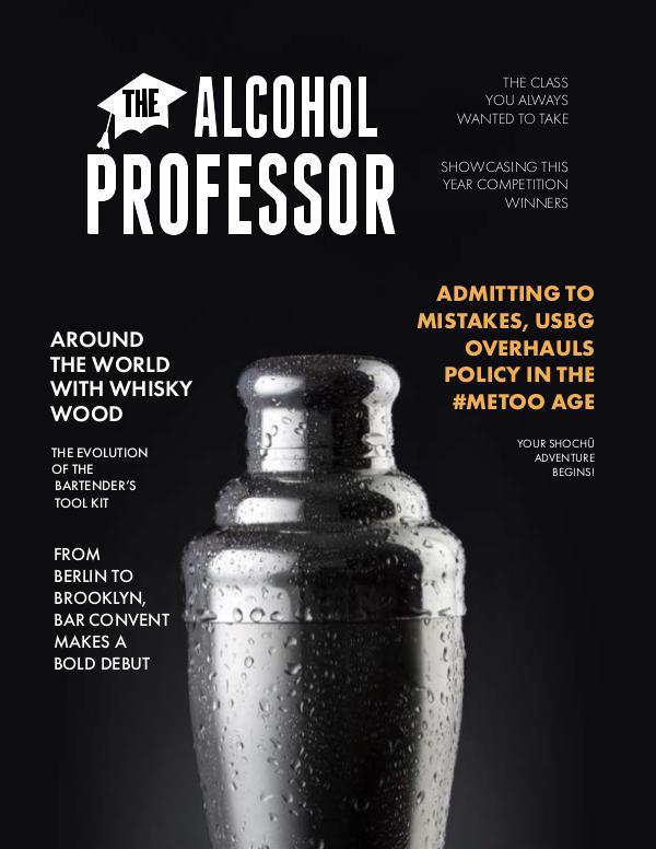 Alcohol Professor Magazine Volume 1, Issue 2