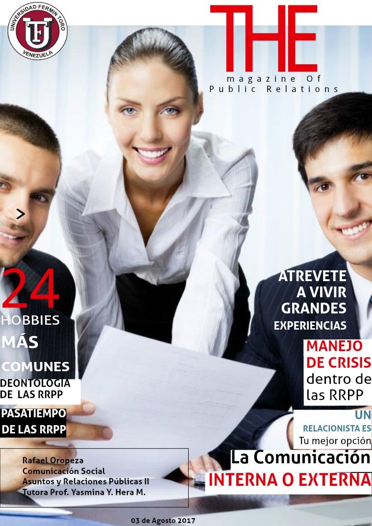 The Magazine Of Public Relations The Magazine Of Public Relations