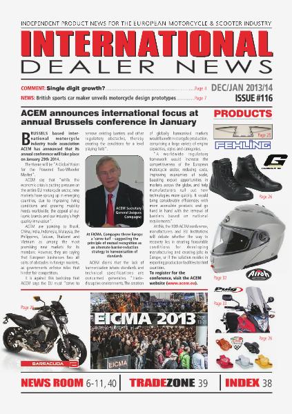 International Dealer News IDN 116 Dec 2013/Jan 2014